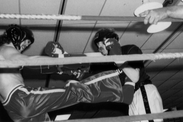 MMA history front kick