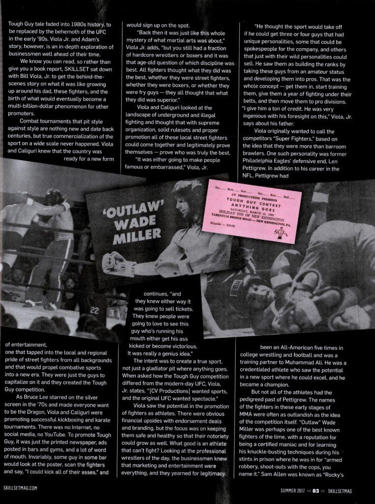 MMA History 5